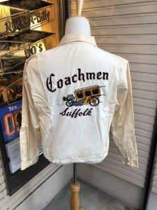 50s 60s Vintage CarClub Jacket Coachmen/ヴィンテージ /カークラブジャケット/当時の資料写真付き