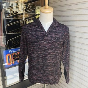 <img class='new_mark_img1' src='https://img.shop-pro.jp/img/new/icons14.gif' style='border:none;display:inline;margin:0px;padding:0px;width:auto;' />The GROOVIN HIGH Rayon BOX Shirt/A261/Black/グルービンハイ/レーヨン/シャツ /日本製