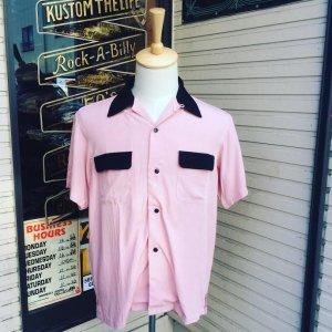 Addiction KUSTOM THE LIFE RAYON OPEN COLLAR SHIRTS made in Japan/アディクション/レーヨンオープンカラー半袖シャツ /日本製