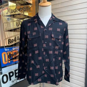 <img class='new_mark_img1' src='https://img.shop-pro.jp/img/new/icons14.gif' style='border:none;display:inline;margin:0px;padding:0px;width:auto;' />The Groovin Highvintage Vinage Style RayonShirt A281/グルーヴィン・ハイ/レーヨンオープンカラー長袖シャツ/日本製 入荷