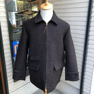 <img class='new_mark_img1' src='https://img.shop-pro.jp/img/new/icons14.gif' style='border:none;display:inline;margin:0px;padding:0px;width:auto;' />The Groovin High Vintage style car coat jacket /ヴィンテージスタイルカーコート/ ブラウン/日本製/