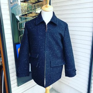 <img class='new_mark_img1' src='https://img.shop-pro.jp/img/new/icons27.gif' style='border:none;display:inline;margin:0px;padding:0px;width:auto;' />The Groovin High Vintage style car coat jacket /ヴィンテージスタイルカーコート/ ブラック/日本製 /