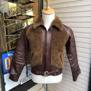 The Groovin High vintage 40s style Grizzly Jacket 【納品時期:10〜11月】