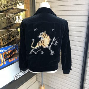 The Groovin High 50s style Velveteen souvenir Jacket 【納品時期:9〜10月】