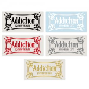 Addiction kustom the life /  VYNYL STICKER