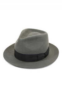 <img class='new_mark_img1' src='https://img.shop-pro.jp/img/new/icons33.gif' style='border:none;display:inline;margin:0px;padding:0px;width:auto;' />DRY BONES Wool FEDORA HAT GRAY ドライボーンズ/ウールフェドラハット/グレー