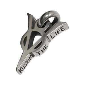 Addiction kustom the life /V8 pendant top SILVER