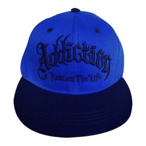 Addiction kustom The Life SNAP BACK BB CAP BLUE