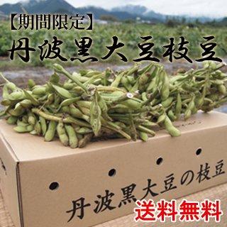 丹波黒大豆枝豆−枝付きー2kg(1kg×2束入り)