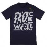 ROCKWELL(ロックウェル) ELECTRIC LOGO Tシャツ(NAVY)<img class='new_mark_img2' src='//img.shop-pro.jp/img/new/icons49.gif' style='border:none;display:inline;margin:0px;padding:0px;width:auto;' />