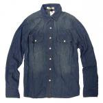 Slic Slic(スリックスリック) DENIM SHIRT<img class='new_mark_img2' src='//img.shop-pro.jp/img/new/icons24.gif' style='border:none;display:inline;margin:0px;padding:0px;width:auto;' />