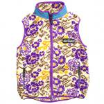 Wild Things(ワイルドシングス) FLOWER FLEECE VEST (NATURAL)