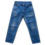 ORDINARY FITS(オーディナリーフィッツ) [Unisex] DENIM CROPPED PANTS(BLUE)