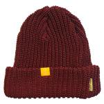 Naturalbicycle(ナチュラルバイシクル) LOW GAUGE BEANIE ニット帽 (BURGUNDY)<img class='new_mark_img2' src='//img.shop-pro.jp/img/new/icons49.gif' style='border:none;display:inline;margin:0px;padding:0px;width:auto;' />