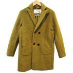NATAL DESIGN(ネイタルデザイン) [Unisex] DOUBLE BREASTED COAT (YELLOW OCHER)