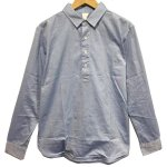 Kelen(ケレン) CHANGE THE BAG SHIRTS 'GRIEG' (BLUE)