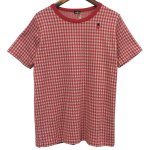 Bohemians(ボヘミアンズ) [Unisex] S/S TEE GINGHAM JQ (RED)<img class='new_mark_img2' src='//img.shop-pro.jp/img/new/icons24.gif' style='border:none;display:inline;margin:0px;padding:0px;width:auto;' />