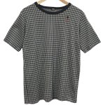 Bohemians(ボヘミアンズ) [Unisex] S/S TEE GINGHAM JQ (BLACK)<img class='new_mark_img2' src='//img.shop-pro.jp/img/new/icons49.gif' style='border:none;display:inline;margin:0px;padding:0px;width:auto;' />