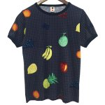 Bohemians(ボヘミアンズ) [Unisex] S/S TEE WRAPPING FRUIT (NAVY)