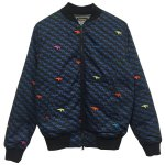 Bohemians(ボヘミアンズ) [Unisex] RIB JACKET LOVE PIGEON (BLACK)<img class='new_mark_img2' src='//img.shop-pro.jp/img/new/icons49.gif' style='border:none;display:inline;margin:0px;padding:0px;width:auto;' />