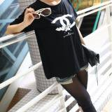 大きいサイズ☆セレカジ風CCマークプリントTシャツ