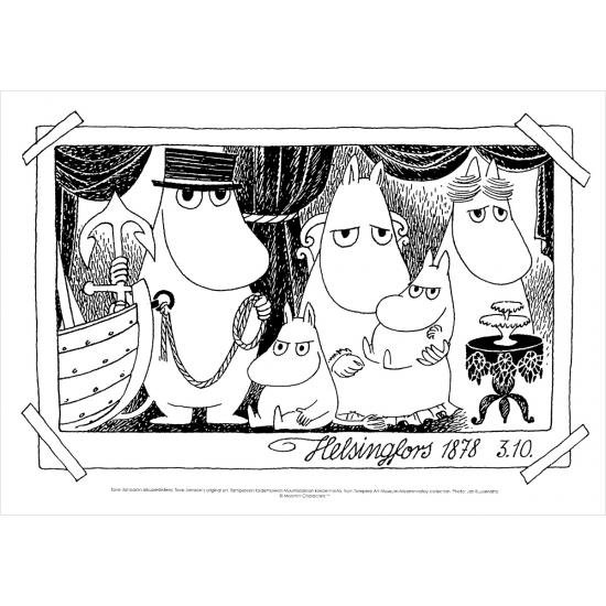 ムーミン 原画ポスター PTM02