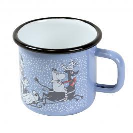 ムーミンホーロー製マグカップ muurla アクアブルー