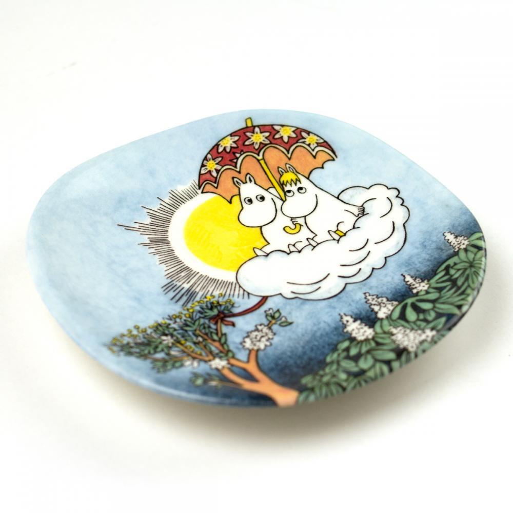 ウォールプレート 3-5 Moomin in the Sky 「空飛ぶムーミン」」99-2002年