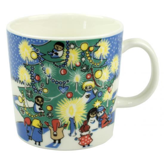 ムーミンマグカップ ヴィンテージ/【2004-2005 クリスマスマグ】