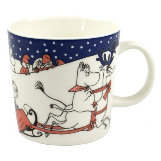 ムーミンマグカップ ヴィンテージ/クリスマスマグ1997-2002