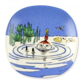 ムーミン ウォールプレート 「泳ぐミィ (Little My Swims)」[ヴィンテージ (1990〜1994)]