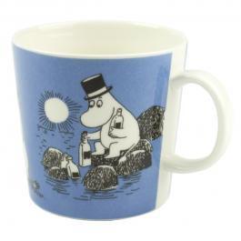 ムーミン マグカップ 「ムーミンパパ (MoominPappa)」[ダークブルー][ヴィンテージ 1996〜1999]
