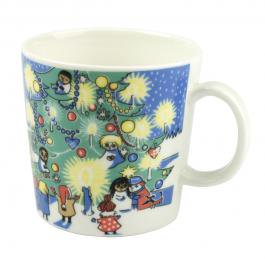 ムーミン マグカップ 「クリスマス マグ (Christmas Mug)」[ヴィンテージ 2004〜2005 冬季限定]