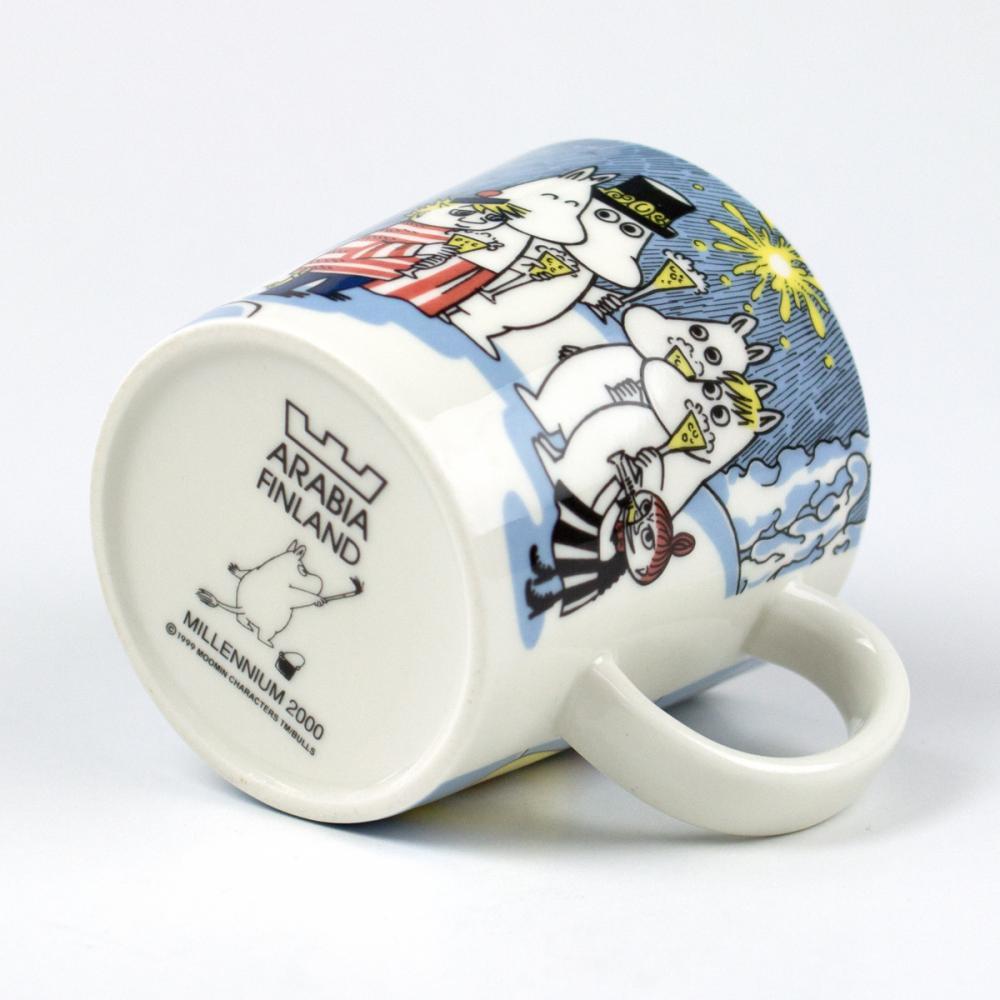ムーミンマグカップ ヴィンテージ/ミレニアムマグ2000年