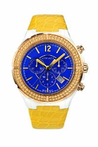 Versace(ベルサーチ)Women's 28CCP16D282 S585 DV One Cruise Ceramic & Rose Gold Ion-Plated with Top…