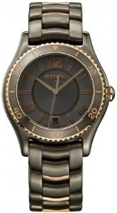 Ebel(エベル)Womens  X-1 PVD-finished stainless steel/18K rose gold casewatch 1216117