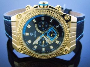 Aqua Master(アクアマスター)Men's  50mm Labi 12 Diamonds