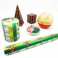 Kapula アフリカキャンドル - クリスマス (種類により価格が異なります)