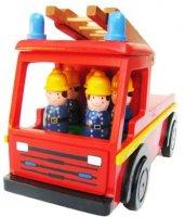 Handicraft 消防士と消防車