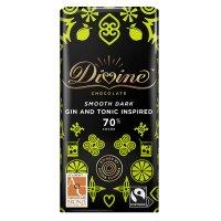【Divineフェアトレードチョコレート】ジン&トニック・ダーク 90g