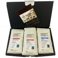 焙煎コーヒー3袋ギフトセット(中南米 ブラジル・グアテマラ・マム)