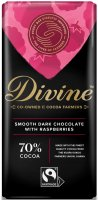 【Divineフェアトレードチョコレート】ラズベリー・ダーク 90g