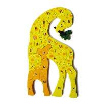 Handicraft キリン/アルファベット 15×30×0.9cm