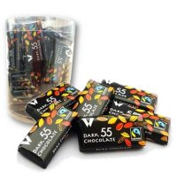 カカオ55%ダークチョコレート 250g(約50個入り)