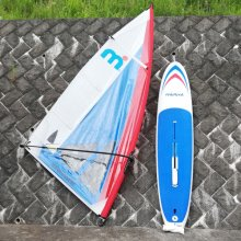 <img class='new_mark_img1' src='https://img.shop-pro.jp/img/new/icons7.gif' style='border:none;display:inline;margin:0px;padding:0px;width:auto;' />[USED] Mistral Windsurfer LT International race complete set