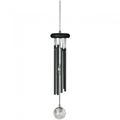 Crystal Meditation Chime−Black