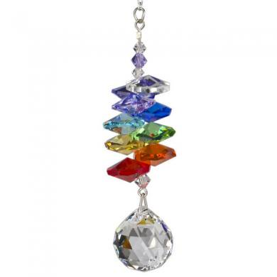 Crystal Rainbow Cascade - Ball