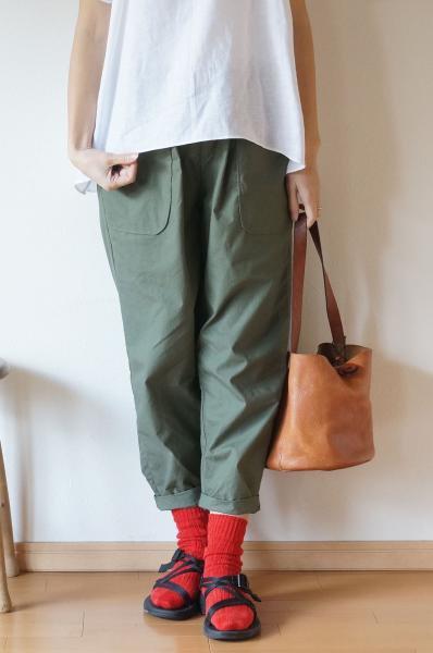 Cotton horse cloth Baker pants