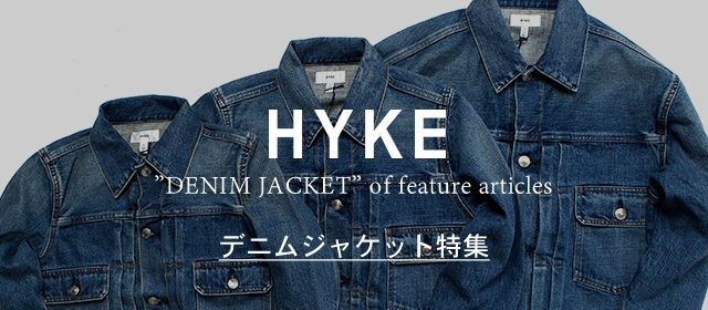 HYKE denim jacket_size