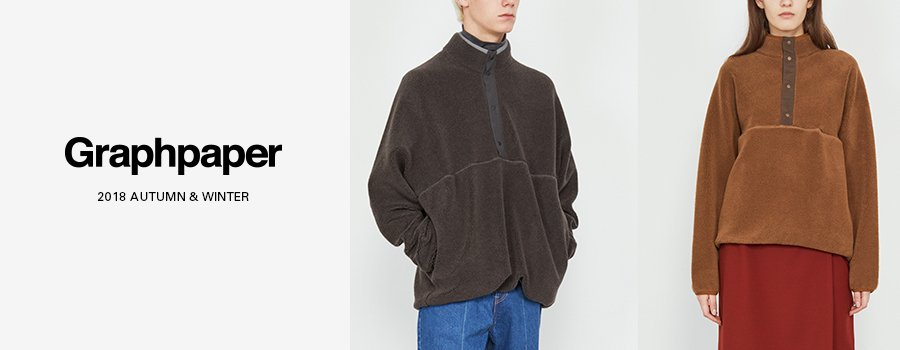 Graphpaper(グラフペーパー)18AW